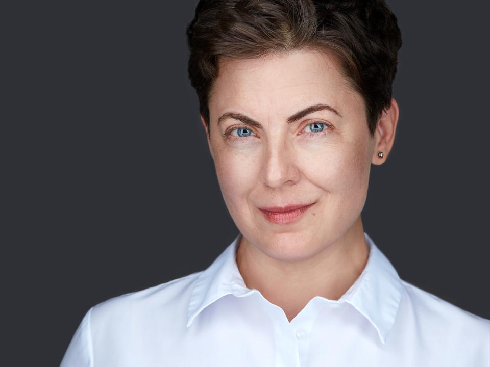 Woman business headshot portrait linkedin profile